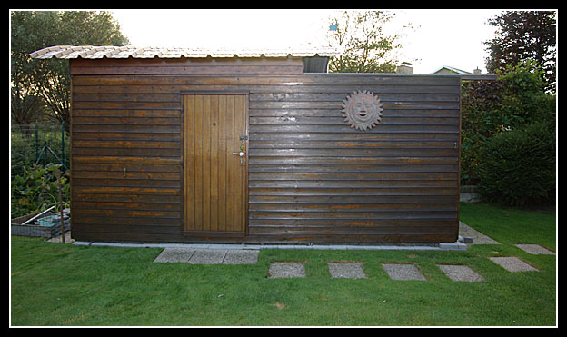 Sterrenwacht for Garden shed 3x3